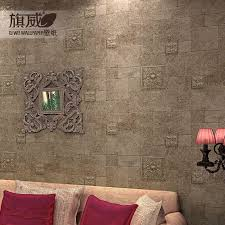 3d Vintage Stone Wall Paper Flag Wallpaper Nostalgic Brick Wallpapers Tv Background Mosaic Tiles Rustic Covering Decor Mobile
