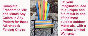 Polywood Adirondack Chairs Folding by Amish Outdoor Polywood Rocking Chairs U0026 Amish Polywood Adirondack