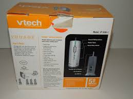 VTech Broadband Telephone System IP 8100-1 5.8 GHz New Open Box ... Vonage Home Phone Service With 1 Month Free Ht802vd Voip Device Model Vdv23 Vd Voip Phone Adapter Modem Internet Router Lot Of 2 Vonage V23vd V21vd Vportal Digital Installing The Youtube Whole House Kit Walmartcom Box No Contract Adapter Panasonic Tgp 550 Ip Business Top Providers Unlimited Intertional Calls Lilinha Angels Amazoncom Ht802cvr Plus Cordless System Insiders Tour Our Solution Used Voip Vdv23vd