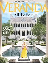 100 Magazine Houses Veranda Celebrates Its 30th Anniversary With Its Largest