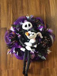Walgreens Halloween Decorations 2015 by Jack Skellington And Zero Wreath Using Items From Dollar Tree