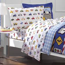 Transportation Toddler Bedding by Amazon Com Dream Factory Trucks Tractors Cars Boys 5 Piece