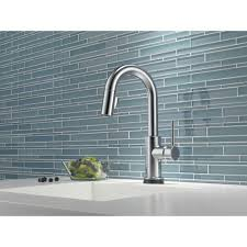 Delta Trinsic Kitchen Faucet Champagne Bronze by Delta Faucet 9959t Ar Dst Trinsic Arctic Stainless Pullout Spray