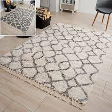 teppiche teppichböden teppich modern marokkanisch fransen
