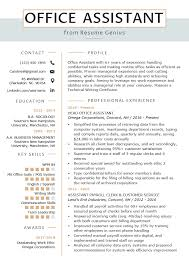 Office Assistant Resume Example & Writing Tips | Resume Genius 10 Coolest Resume Samples By People Who Got Hired In 2018 Accouant Sample And Tips Genius Templates Wordpad Format Example Resume Mistakes To Avoid Enhancv Entrylevel Complete Guide 20 Examples 7 Food Beverage Attendant 2019 Word For Your Job Application Cover Letter Counselor With No Experience Awesome At Google Adidas Cstruction Worker Writing Business Plan Paper Floss Papers Real Estate
