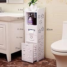 mthomes modernes badezimmer schrank regal schrank toilettenpapier rolleneinheit unterer speicher mit einer untersten fach