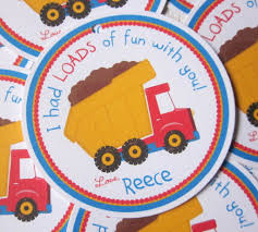 Construction Dump Truck Favor Tags. | Party Ideas | Pinterest ... Dump Truck Party Theme Pictures Tips Ideas City Cowboy Hat Arnies Supply Plate As Well Bodies For 1 Ton Trucks Plus Sale In Cstruction Birthday Cupcake Toppers Amazoncom Wrappers Design Banner Truck Birthday Boys No Fuss Or Hassle An Easy Tonka Supplies Decorations Stay At Homeista Cake Janet Flickr A Cstructionthemed Half A Hundred Acre Wood