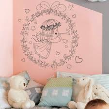 sticker chambre bébé fille stickers decoratifs chambre enfant stickers citation enfant
