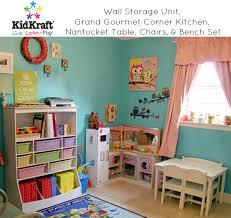 kidkraft wall storage unit review storage organization for kids