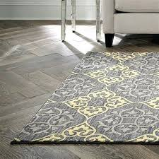 Gray And Yellow Rugs For Gray Yellow Trellis Area Rugs 61 Target