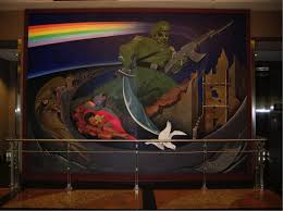 Denver Airport Murals Conspiracy Debunked by Denver International Airport Murals Youtube 100 Images Denver