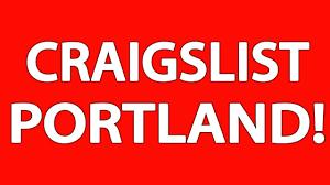 Craigslist Classifieds Portland Oregon.