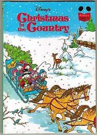 Walt Disneys Wonderful World Of Reading Book CHRISTMAS IN THE COUNTRY