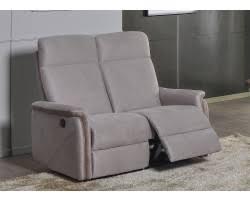 canapé relax 2 places électrique salon complet relax électrique gris 6836