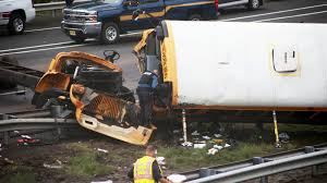 School Bus Collides With Truck On I-80 In New Jersey, Killing ...