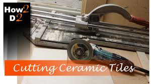 cutting ceramic tile how to cut wall and floor tiles with angle