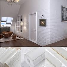 10M Modern Simple 3D Mosaic Living Room Nonwoven Wallpaper