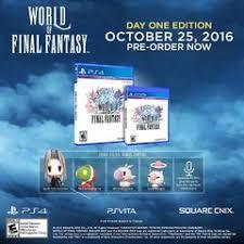 Theatrhythm Final Fantasy Curtain Call Limited Edition by World Of Final Fantasy Final Fantasy Wiki Fandom Powered By Wikia