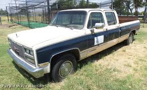 1989 GMC 2500 Crew Cab Pickup Truck   Item DB2719   SOLD! Au... 1989 Gmc Sierra The Wedding Guest Kyle Lundgren His 89 Like A Rock Chevygmc Trucks 89gmctruck 1500 Regular Cab Specs Photos K3500 Truck Mount Components Plowsite Questions What Model Chevy Truck Body Parts Will Used Pickup Parts Cars Midway U Pull For Sale Classiccarscom Cc1100978 Sierra 7000 Lakeland Fl 5002642361 Chevy 1 Ton 4x4 Dually V3500