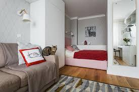 einzimmerwohnung design 33 qm 65 fotos einrichtungsideen