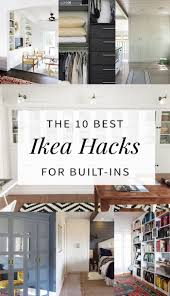 Pantry Cabinet Ikea Hack by 10 Built In Ikea Hacks To Make Your Jaw Drop Hither U0026 Thither