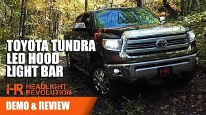 Toyota Tundra LED Hood Light Bar - NSV Knight Rider For 2014+ ...