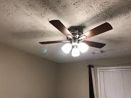 Hampton Bay Ceiling Fan Making Grinding Noise by Hampton Bay Vaurgas 44 In Led Indoor Brushed Nickel Ceiling Fan