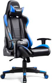 Amazon Brand: Umi. Essentials Gaming Chair Racing Style Ergonomic  Conference Executive Manager Work Office Computer Desk Chair Adjustable  Height With ...