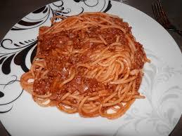 spaghetti bolognaise un amour de cuisine