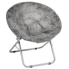 fuzzy saucer chair modern chairs design