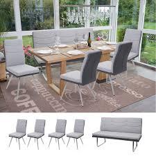 set 4x esszimmerstuhl sitzbank hwc g54 bank küchenstuhl