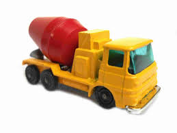 100 Cement Mixer Toy Truck 1960s Vintage Husky 29 ERF Collectible Made Etsy