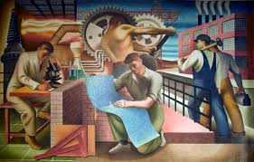 Harlem Hospital Wpa Murals cityviews support the arts to heal our nation city limits