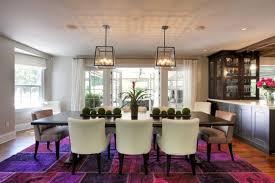 teppich kaufen esszimmer tipps patchwork lila ledersessel