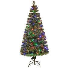 National Tree Company 6 Ft Fiber Optic Evergreen Artificial Regarding Christmas Trees