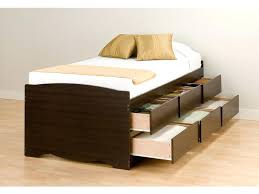 Extra Twin Bedimage Twin Platform Bed With Drawers