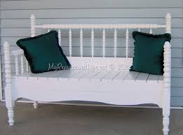 great make a bench out of a headboard and footboard 13 on diy