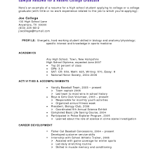 Resume Examples For Working Students 13 Student Resume Examples