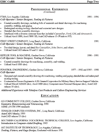Back To Sample Resumes