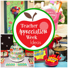 Fun Teacher Appreciation Week Ideas FunSquared