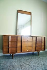 Johnson Carper 6 Drawer Dresser by Please Read Entire Listing Before Purchasing Mid Century Walnut