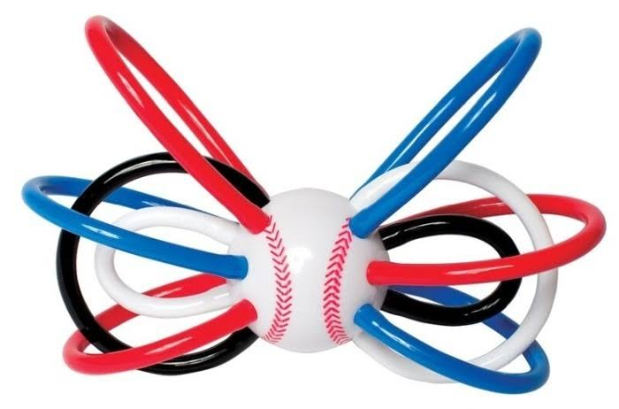 Manhattan Toy Baseball Winkel Rattle & Sensory Teether Baby Toy