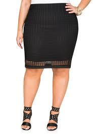 windowpane pencil skirt plus size shirts ashley stewart 038 2427x