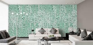 tapeten grün modernes design mowade