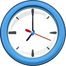 wall clock 1 blue time wall clocks wall clock 1 blue ml