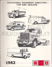 100 Dealers Truck Equipment 1982 GMC Vocational Dealer Album