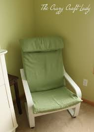 Ikea Rocking Chair Nursery by Nursery Ikea Chair Recover The Crazy Craft Lady