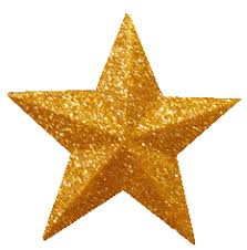 Christmas Clip Art Tree Star Gold1