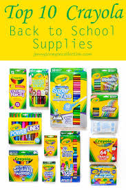 Crayola Bathtub Crayons Stain by Top 10 Essential Crayola Back To Supplies Jenny U0027s Crayon