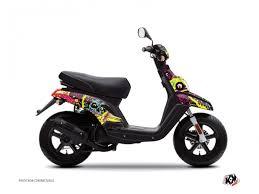 kit deco derbi rockstar kit déco scooter yamaha kits déco autocollants kutvek kit graphik